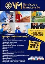 Pintor -Reforma - Eletricista - Montador - Encanador