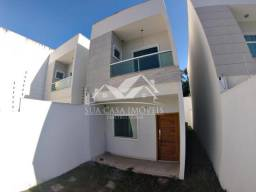 Casa Duplex 3 Quartos c/ 2 Suítes em Manguinhos - Quintal Privativo - Serra - ES