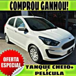 TANQUE CHEIO SO NA EMPORIUM CAR!!!! FORD KA SE 1.0 ANO 2019 COM MIL DE ENTRADA