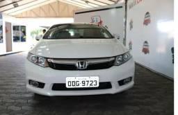 Honda Civic Branco Completo 1.8 IPVA pago!! - 2011