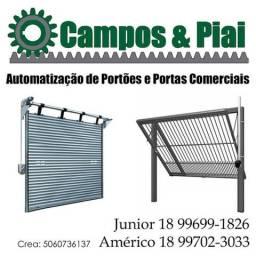 Automatização de Portas Comerciais e Portões