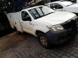 Hilux 2.5 turbo diesel 3 lugares 11/2 - 2012