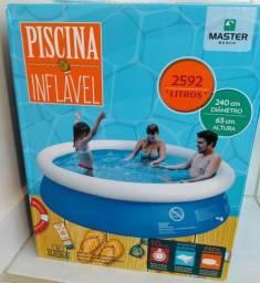 Piscina master 2600 litros valor 150.00