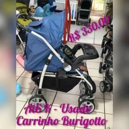 Carrinho de bebe Burigotto AT6K