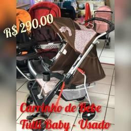 Carrinho de bebe Oncinha Tutti Baby