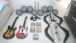Rock Band Guitar Hero Ps3