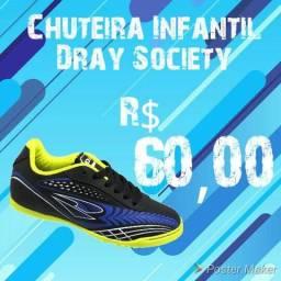 Chuteira Dray Society Infantil!