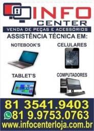 Assistência técnica especializada em Notebook's e Celulares