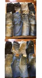 Lote calça jeans feminina nº36 e nº38