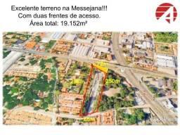TE0207 Vendo ou Alugo terreno nas margens da BR 116 em Messejana, 19.152m²