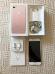 IPhone 7 64gb Anatel Rose Gold Completo + Nota