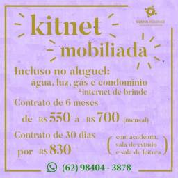 Alguel ja com mobilia, sem condomínio no final do bueno