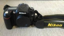 Câmera nikon d90 lente 18-105