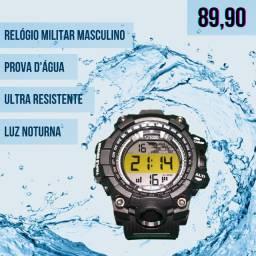 Relógio Militar a Prova D'Água