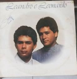 Lp vinil Leandro e Leonardo 1989
