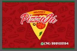 Pizza Já em Jacobina.