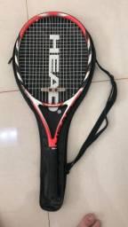 Raquete de tênis infantil head mais plus
