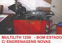 Impressora offset multilith 1250 w