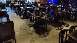 Cadeiras de madeira para bar e restaurante