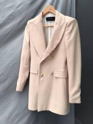 casaco rosa zara
