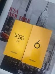 Realme X50 e Pro 128GB/ 5G - zero na caixa.