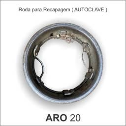 Roda Aro 20 Para Recapagem De Pneus - Autoclave
