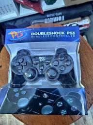 Controle Dualshock  Ps3 - Preto (entrega grátis)<br><br>