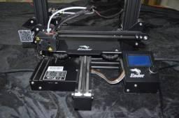 Impressora 3D Ender-3 cor black 100V/265V com tecnologia de impressão FDM