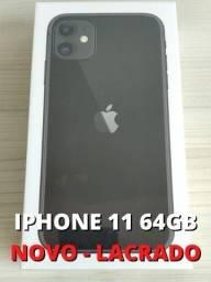 Iphone 11 64gb Novo Lacrado Preto