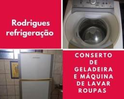 Título do anúncio: Conserto de Lavadora de roupas e Geladeiras