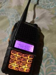 Título do anúncio: Vendo ou troco rádio vhf dual Band baofeng