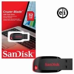 Título do anúncio: Pendrive Sandisk 32gb - Entrega Grátis