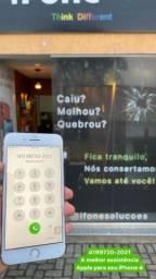 Título do anúncio: Quebrou apenas o vidro do seu iPhone? Troca de vidro iPhone 7 Plus