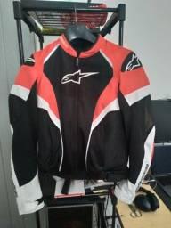 Título do anúncio: jaqueta alpinestars stella t-gp plus r air v2 ventilada feminina M