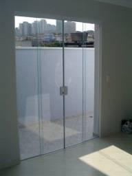 Título do anúncio: Porta de Vidro blindex o metro quadrado