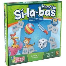 Memória Sílabas e Bingo de Letras Grow