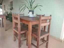 Jogo mesa + 4 cadeiras