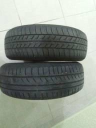 Vendo 2 pneus 175 65 14 meia vida
