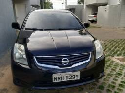 Sentra 2.0 flex 2011/2012 preto completo, cambio manual financiamos