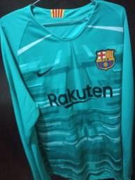 Camisa de goleiro Barcelona