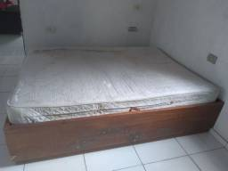 Cama box madeira