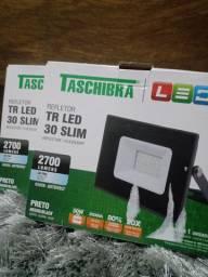 Par de refletores em LED novos na caixa