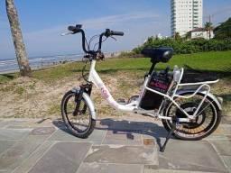 Bicicleta elétrica E club entrego