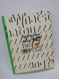 Anuário de Tipografia Design Gráfico