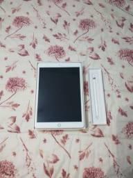 iPad 7 128GB Rose Gold+Apple Pencil 1+ Case com Slot