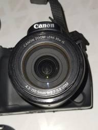 Câmera Canon SX40HS semiprofissional