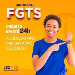 Título do anúncio: Crédito FGTS