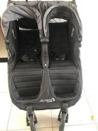 carrinho de Bebê para Gêmeos - Baby Jogger - City Mini Double