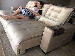 Título do anúncio: Sofá retrátil e reclinável *
