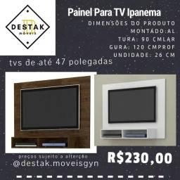 """Painel Ipanema TVs ATÉ 47"""" entrega e Montagem Grátis"""